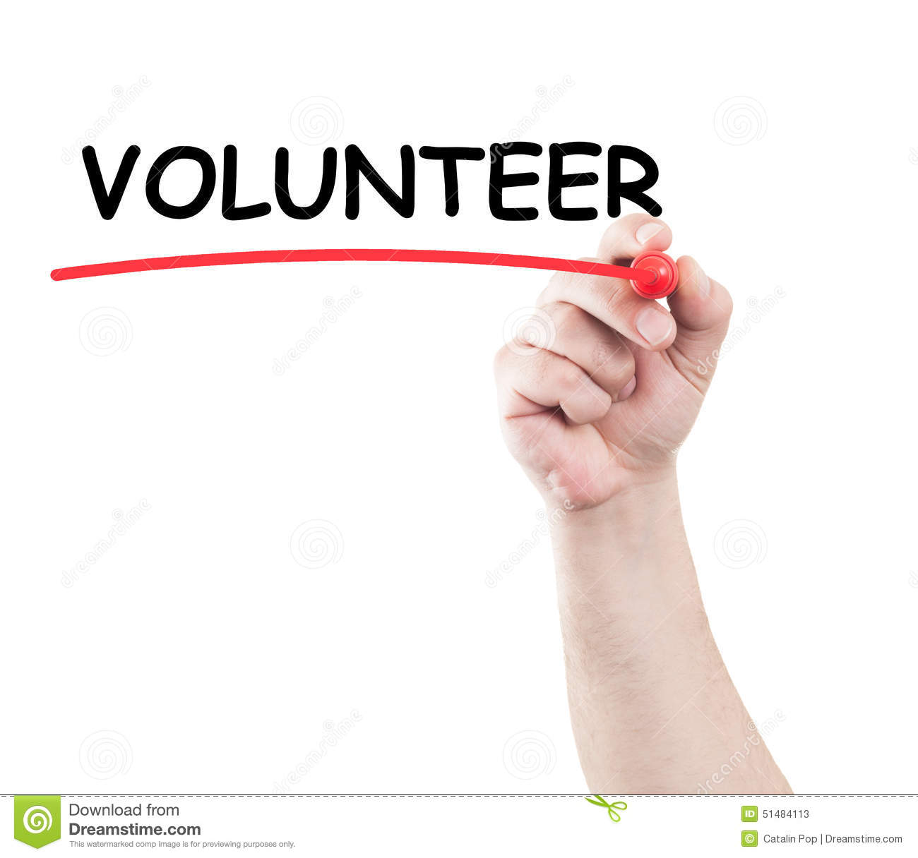 Stock Photo Volunteer Hand Writing Underline Text Transparent Wipe Board White Background Copy Space Image51484113 on Body Parts Picture Word Cards