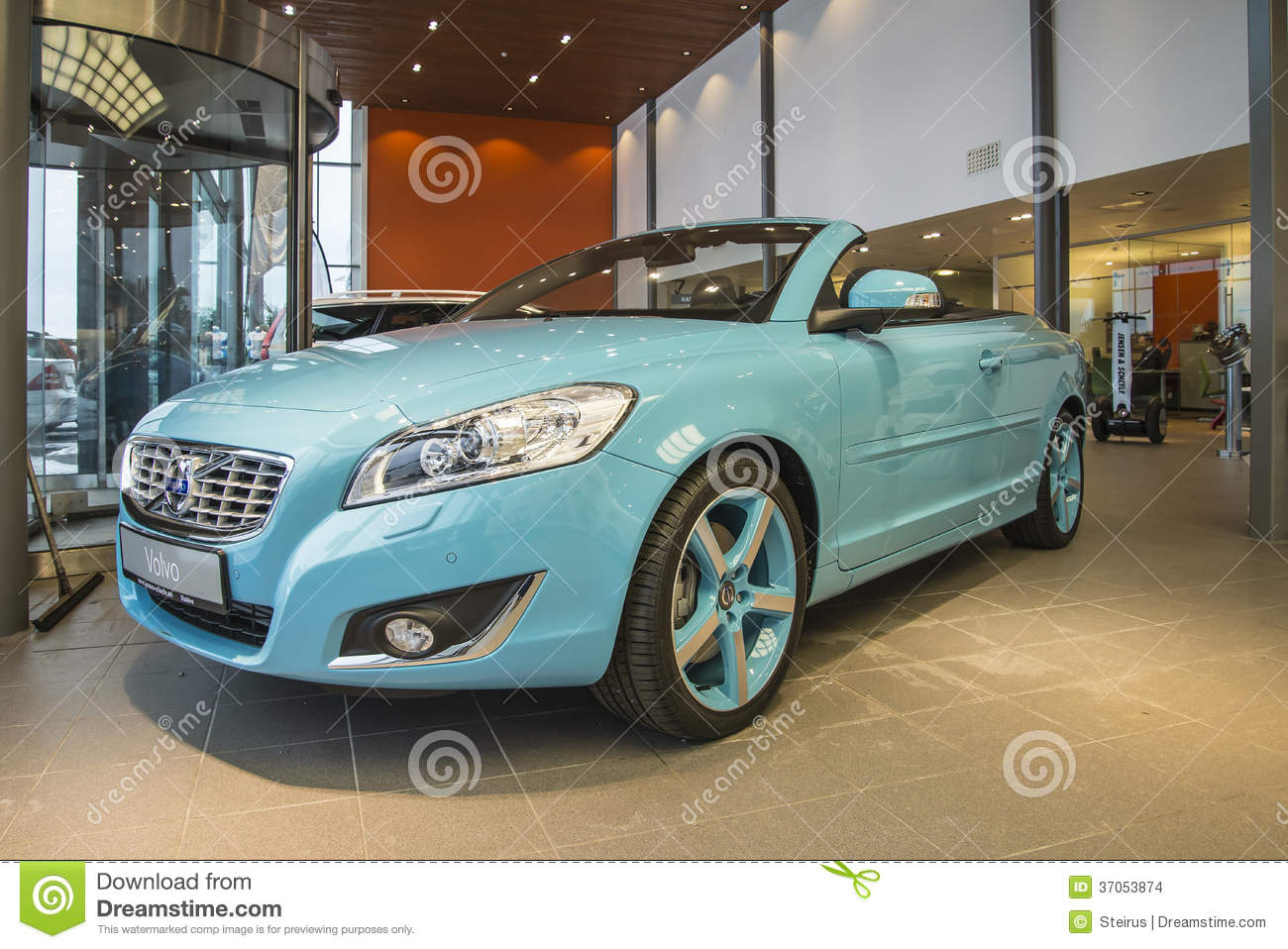 2014 Volvo C70 T5 Convertible Editorial Stock Image
