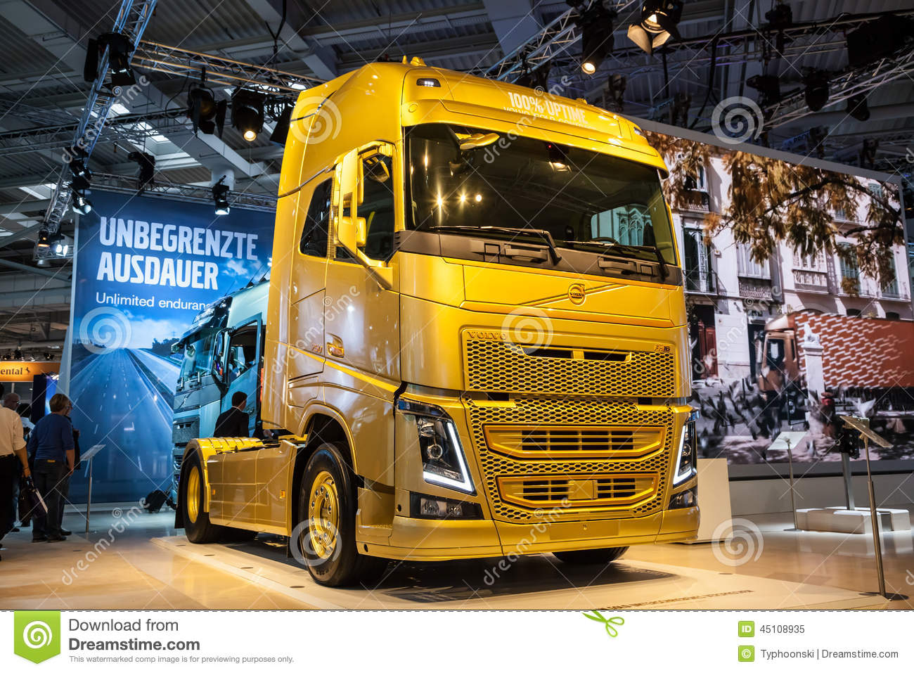 VOLVO FH16 750 HP Truck editorial image. Image of lorry - 45108935