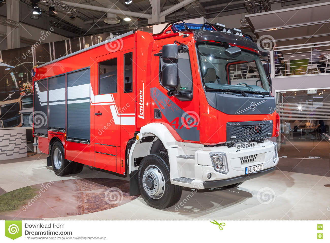 volvo fl 4x4 fire truck editorial photography image of euro 77997012. Black Bedroom Furniture Sets. Home Design Ideas