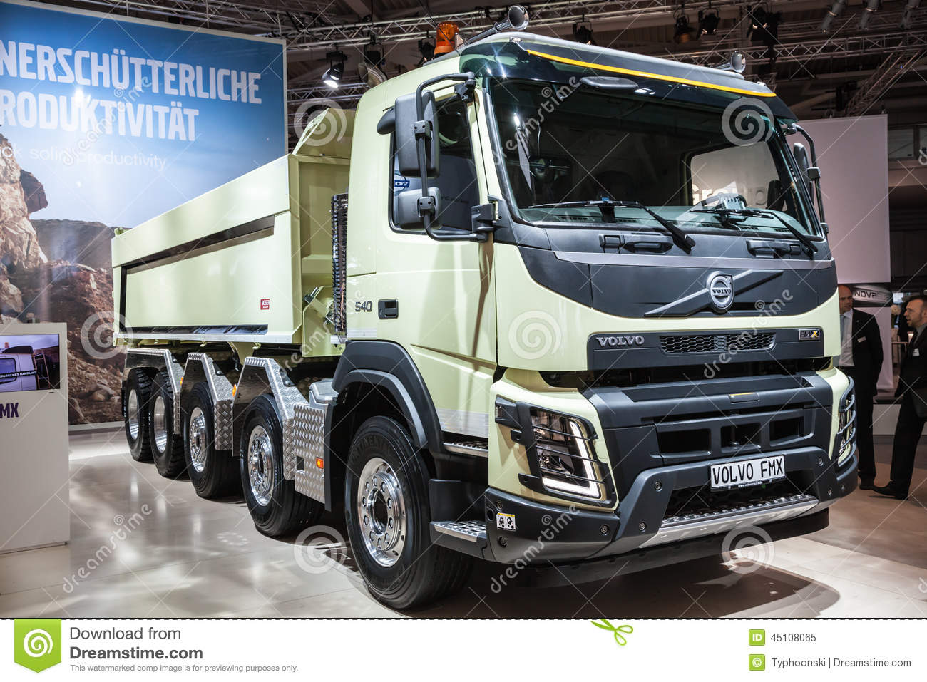 Volvo Fmx Dump Truck Editorial Image Image Of 2014