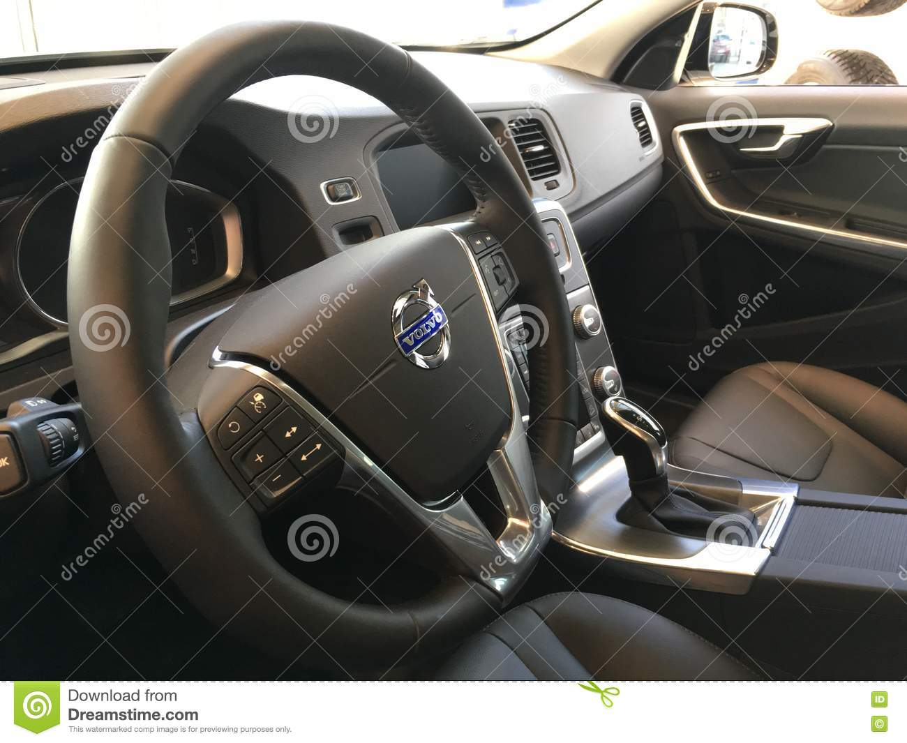 Volvo Editorial Stock Image Image Of Gearshift Horizontal 71370474