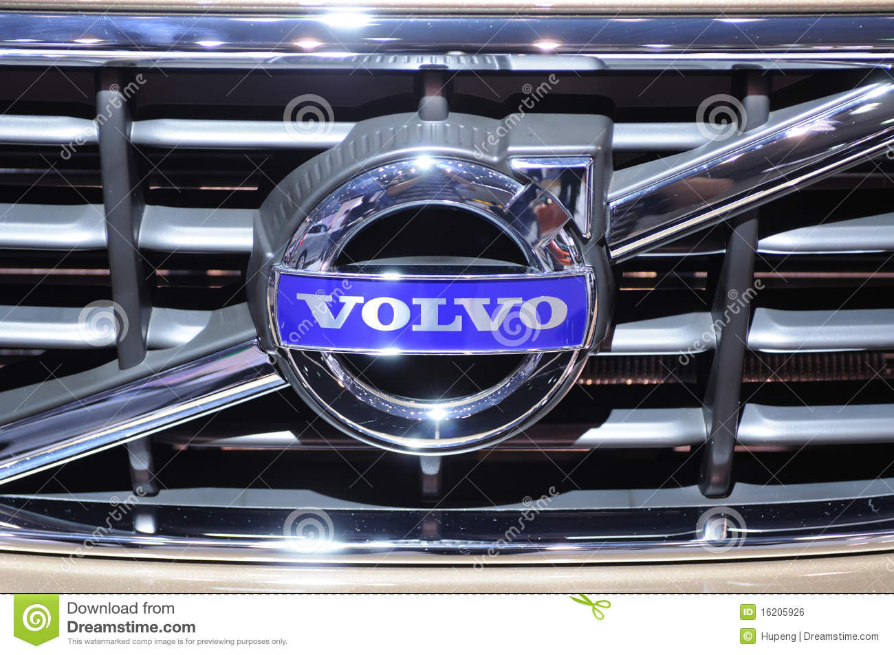 Volvo Logo Editorial Photo - Image: 16205926