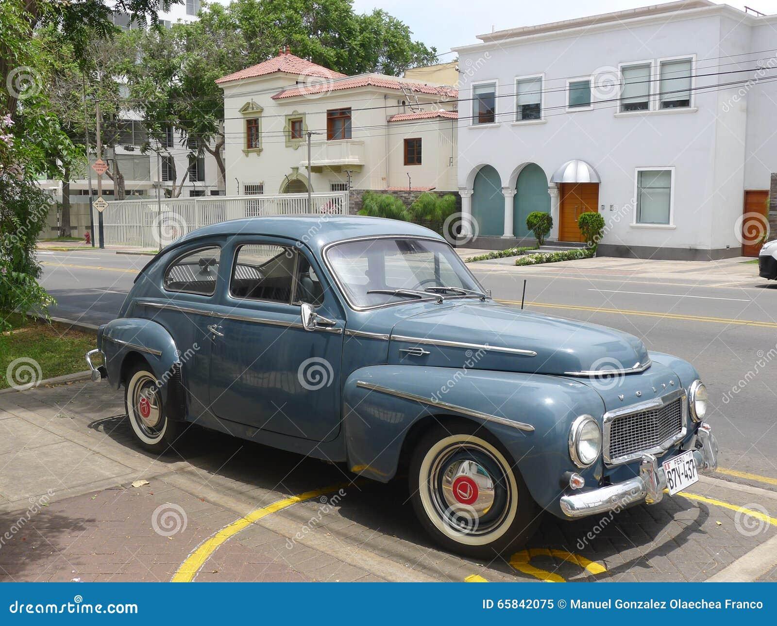 Volvo PV 544 año de fabricación 1964 azul dark blue 1:18 Tecnomodel tm18106e nuevo embalaje original /&