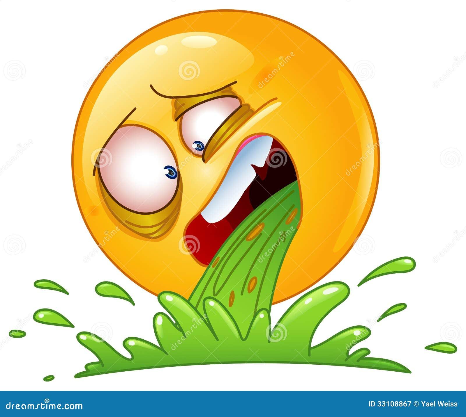 Resultado de imagem para emojis de vomito