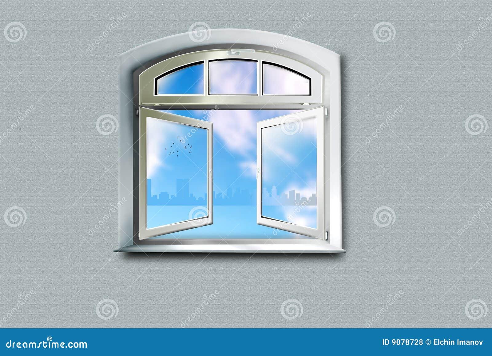 Von einem Fenster