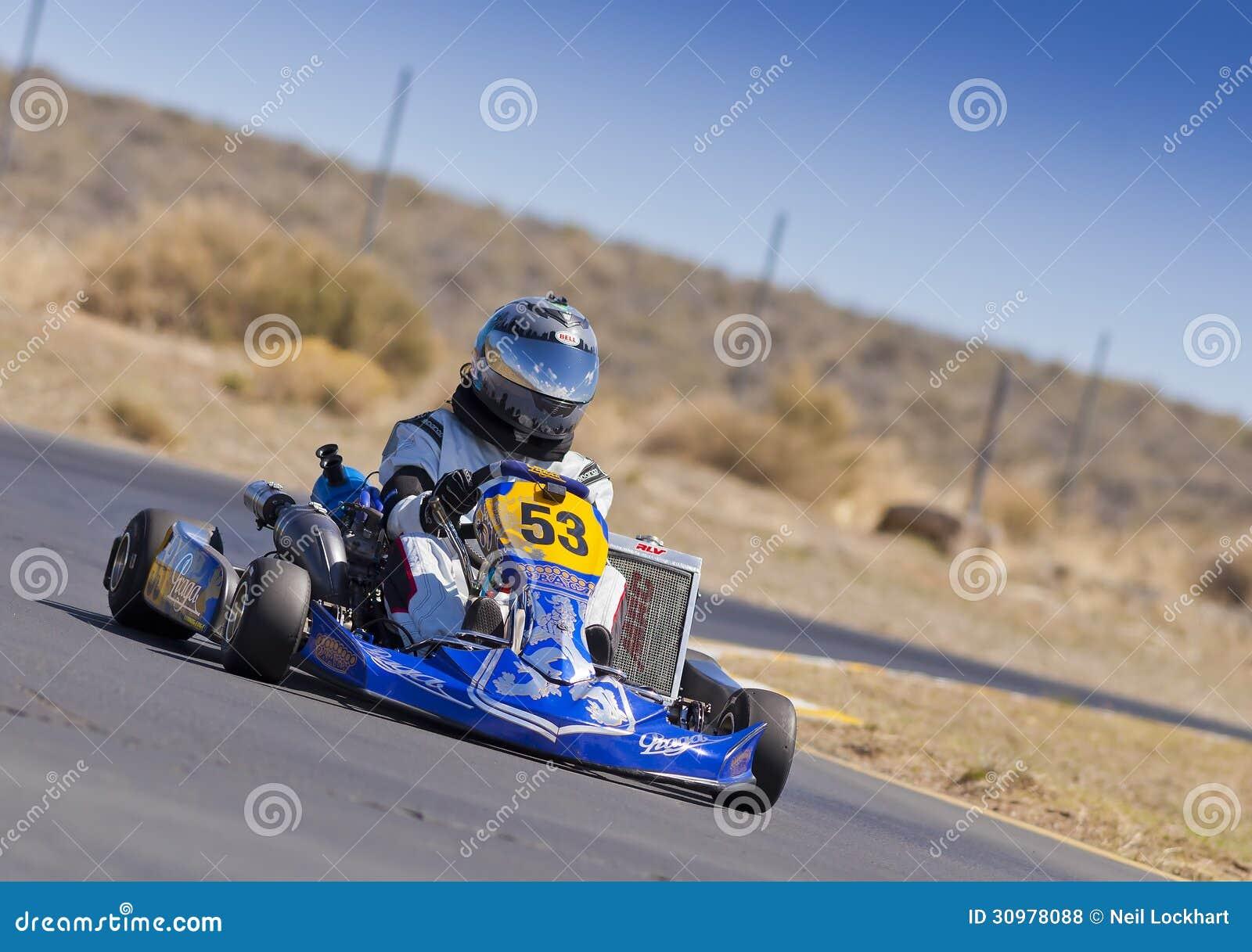 Vont le coureur #53 de kart