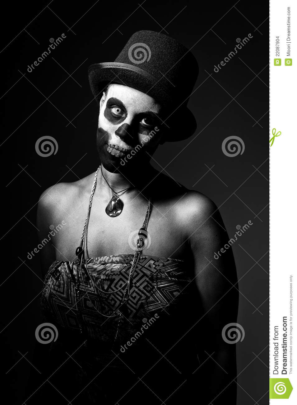 Voodoo priestess stock photo  Image of priest, make, deadman