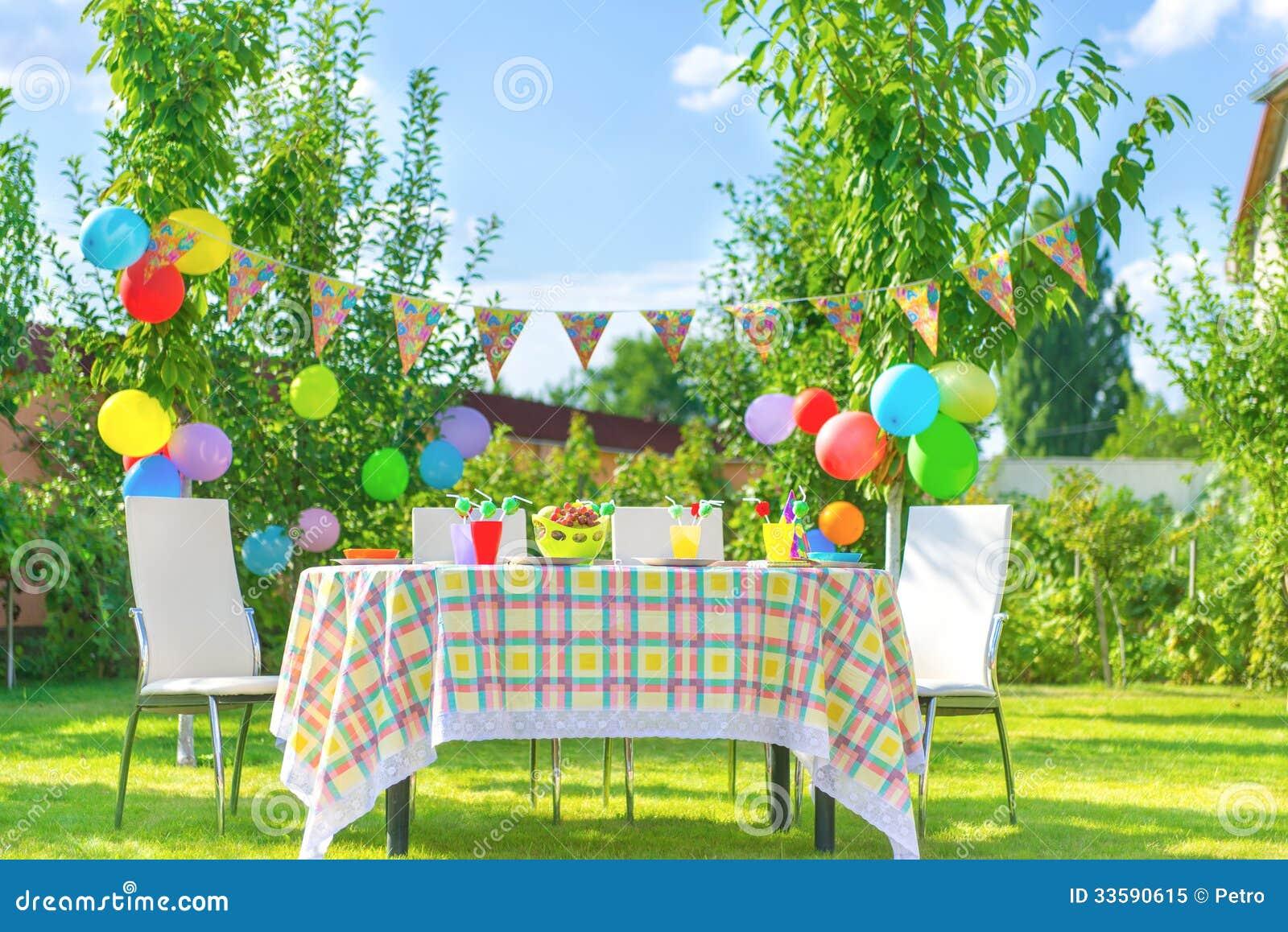 Voorbereide verjaardagslijst