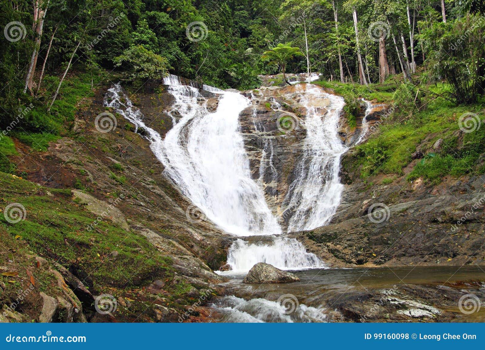 Voorraadbeeld van Watervallen in Cameron Highlands, Maleisië
