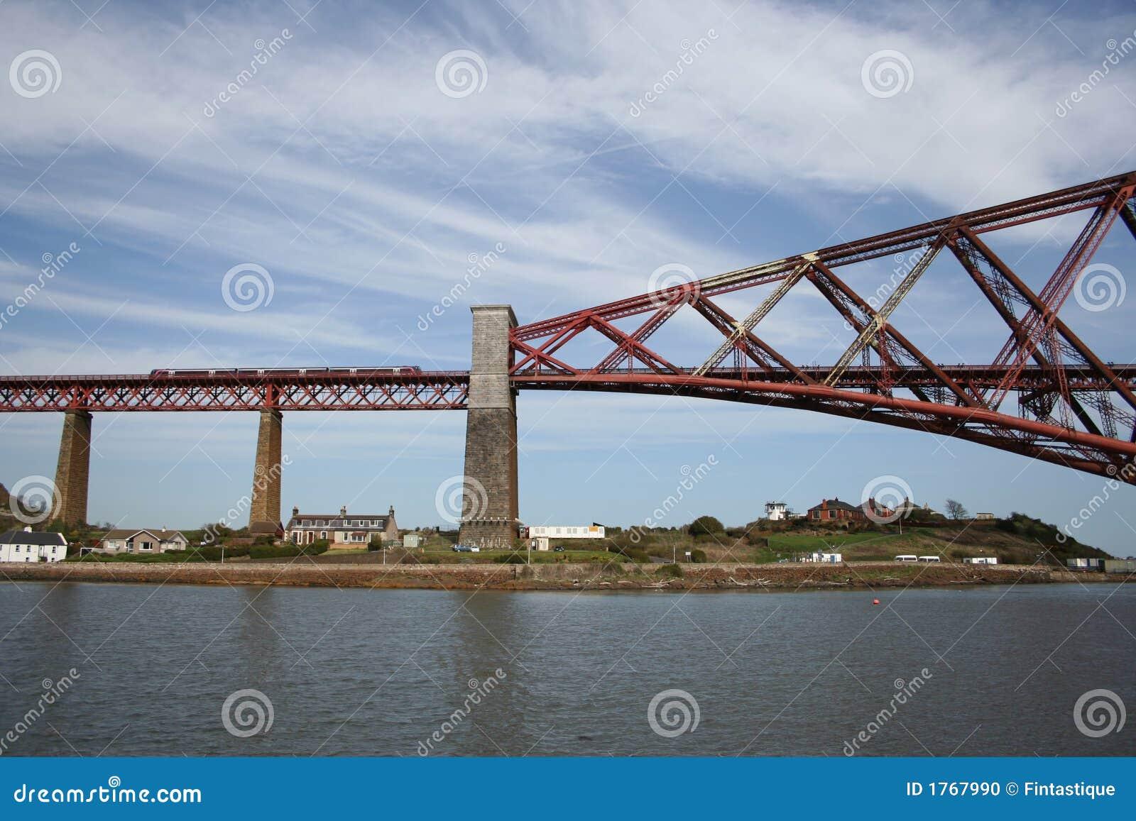 Vooruit de brug van het Spoor, Edinburgh