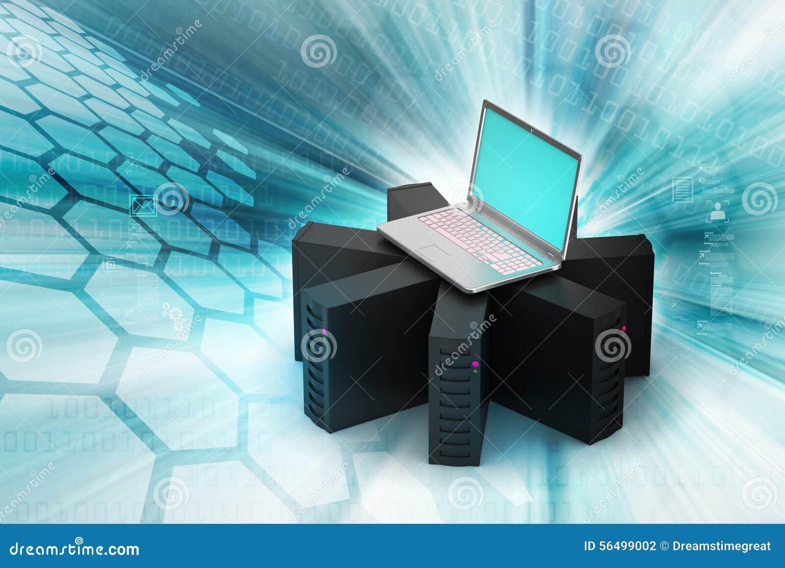 Voorzien van een netwerk en communicatie concept stock illustratie afbeelding 56499002 - Een wasruimte voorzien ...