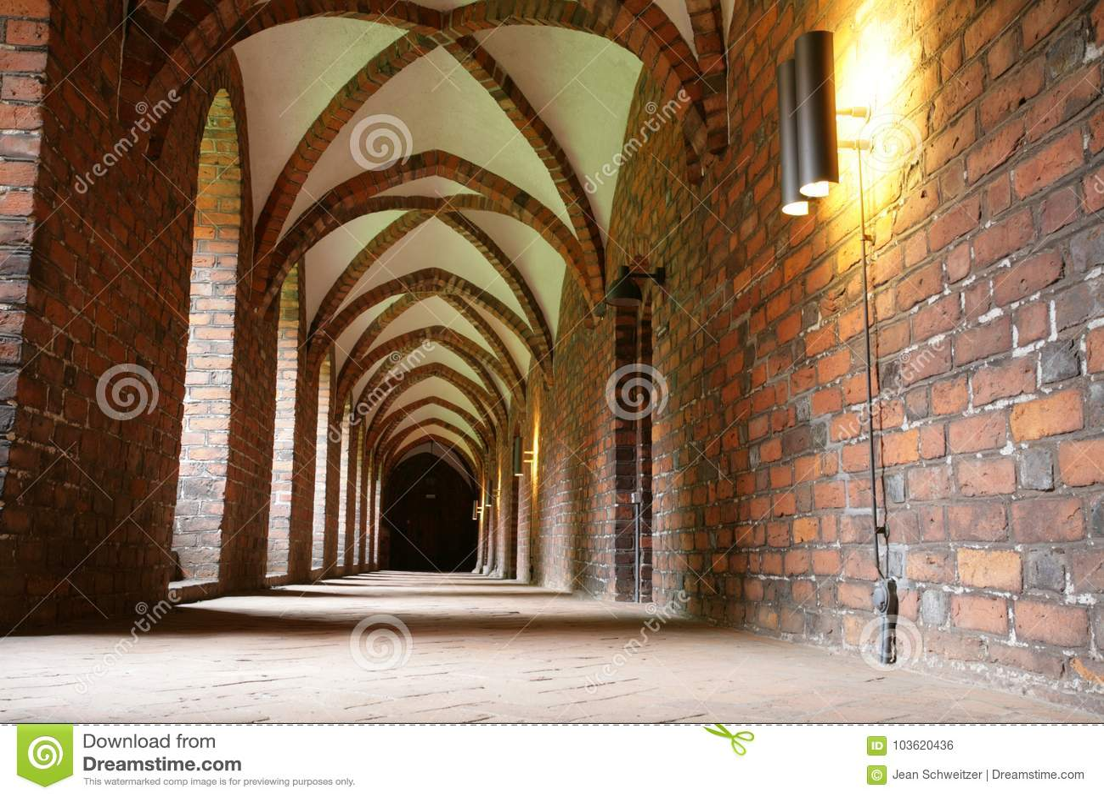 Vor Frue修道院,一个卡默利特平纹薄呢修道院在Elsinore Helsing