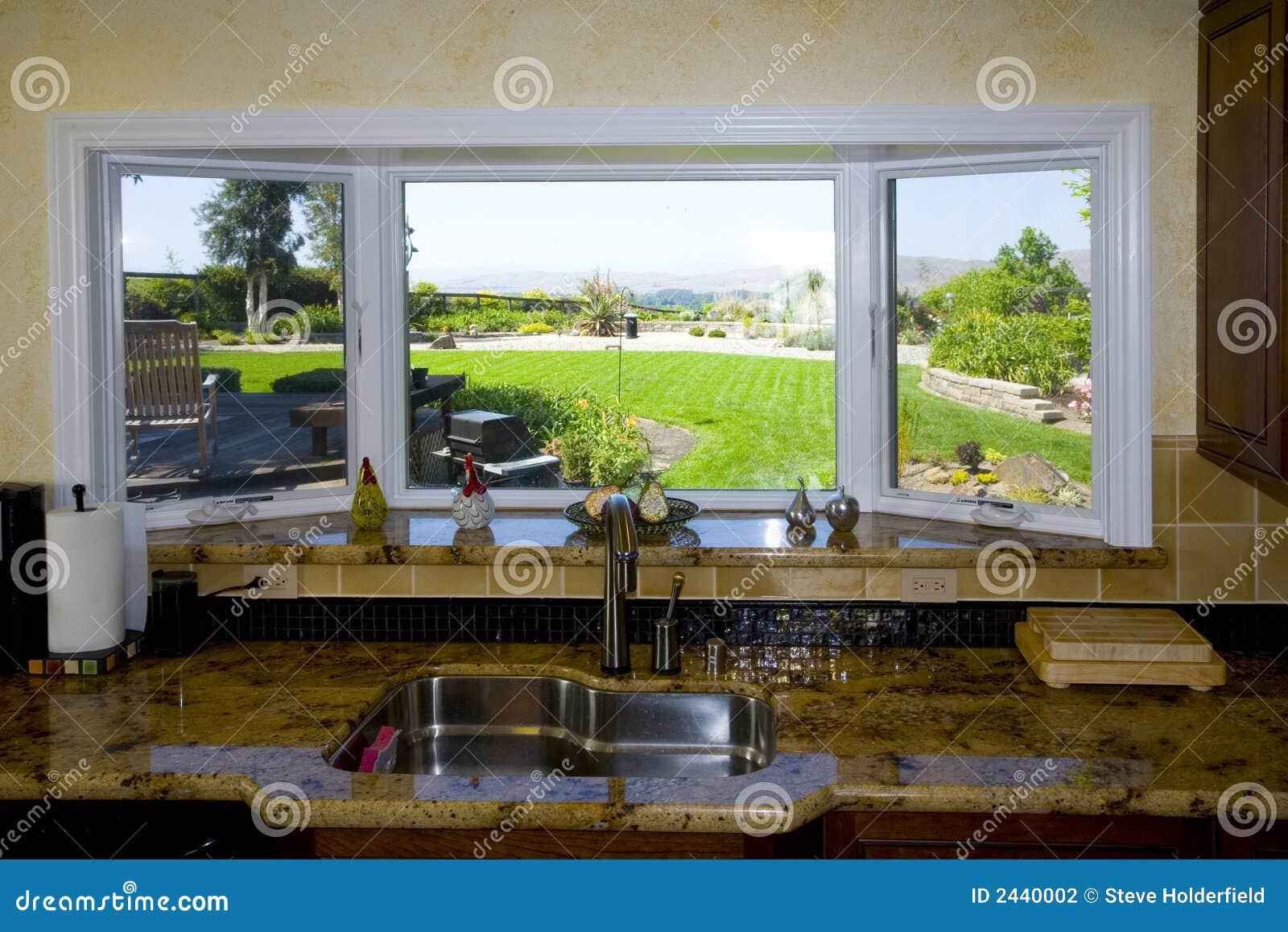 Vor kurzem umgestaltete Küche
