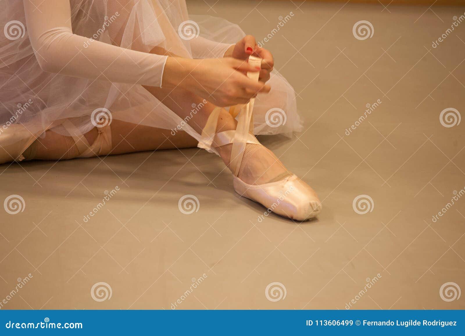 Vorbereiten für den Tanz
