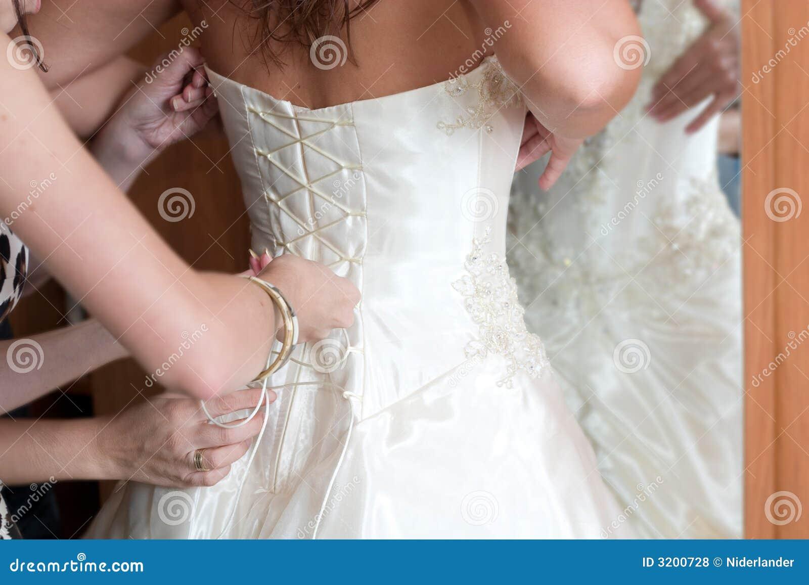 Vorbereitung zur Hochzeit
