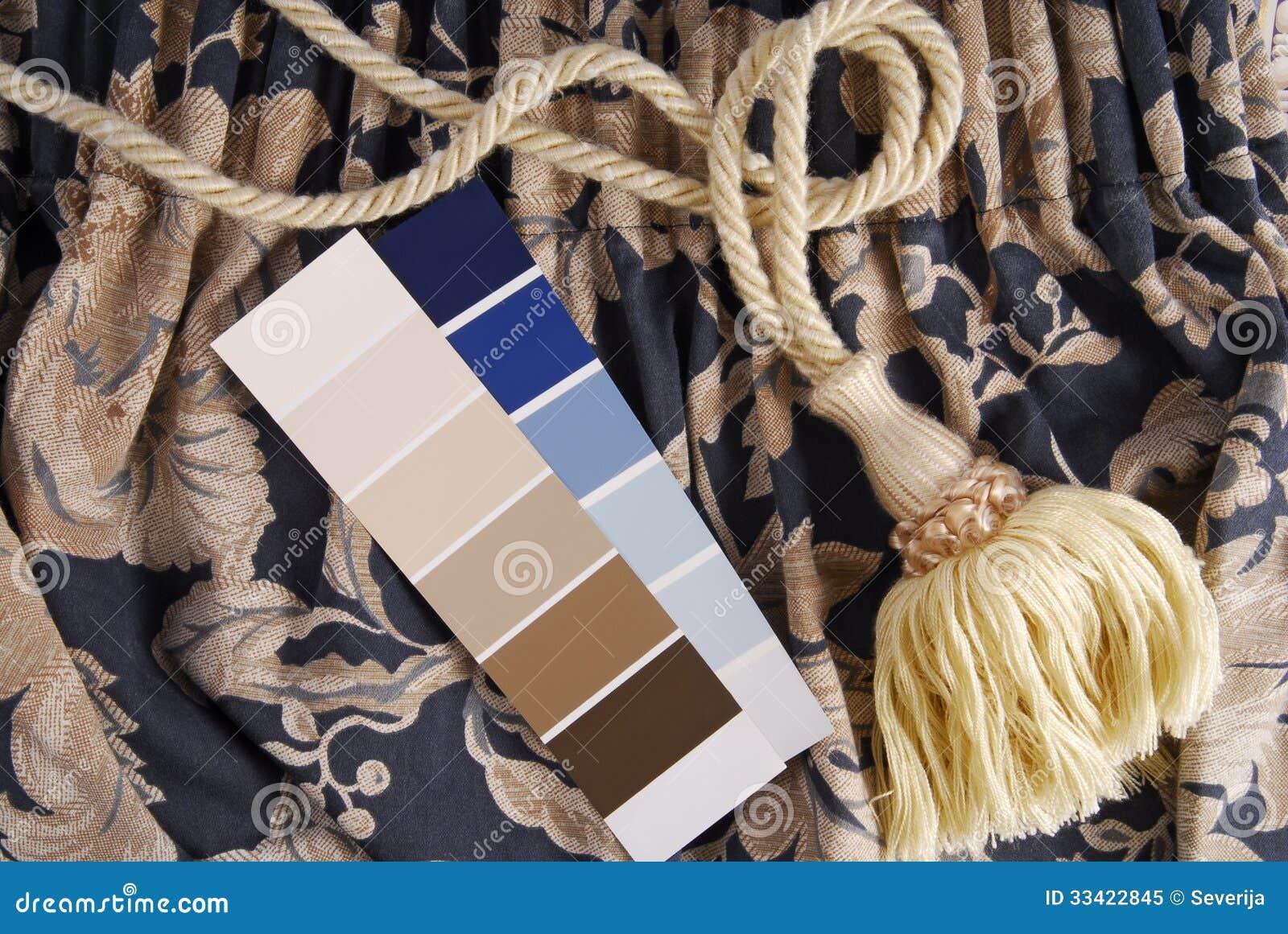 Vorhang und Farbwahl für Innenraum