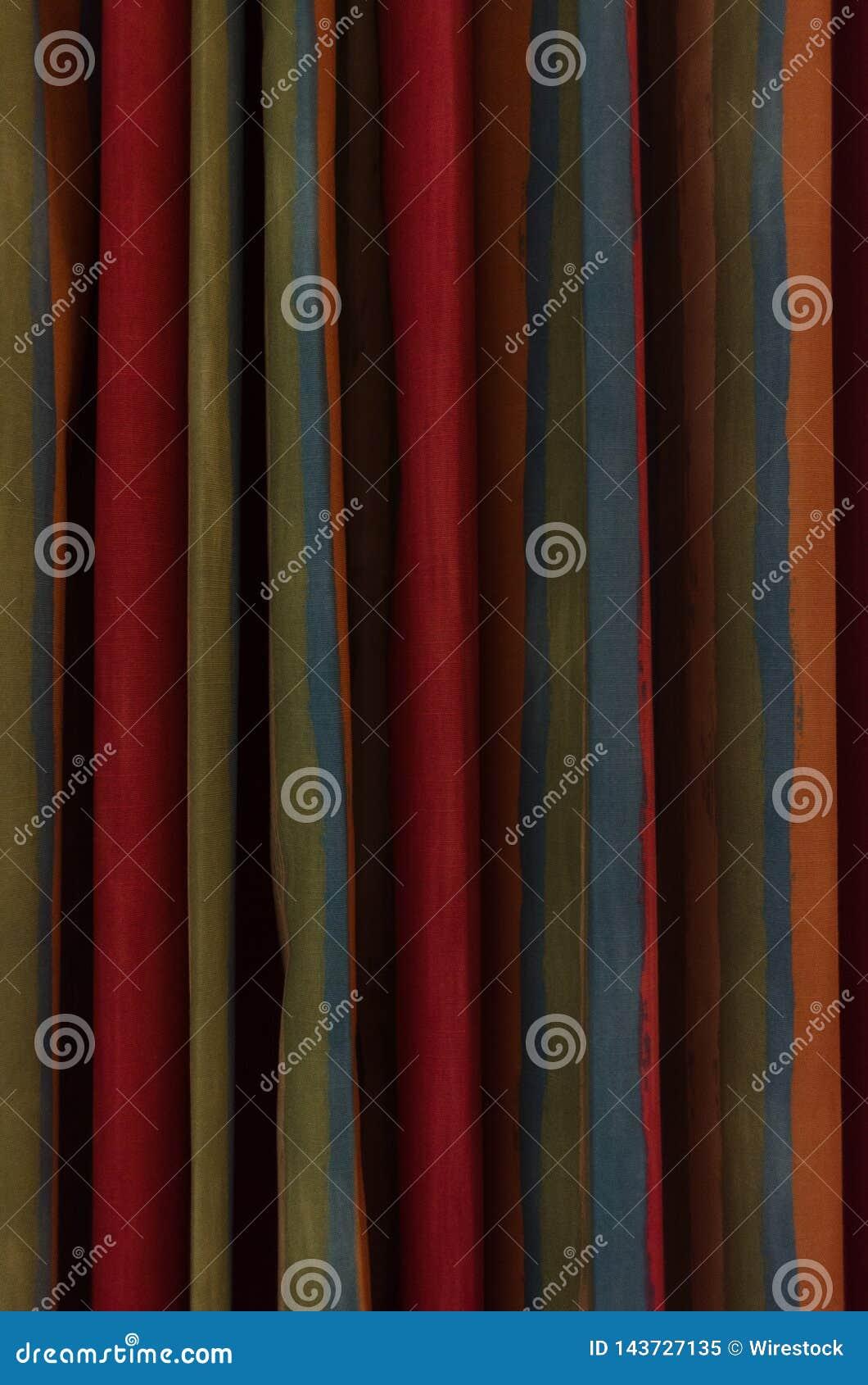 Vorhang von Farben