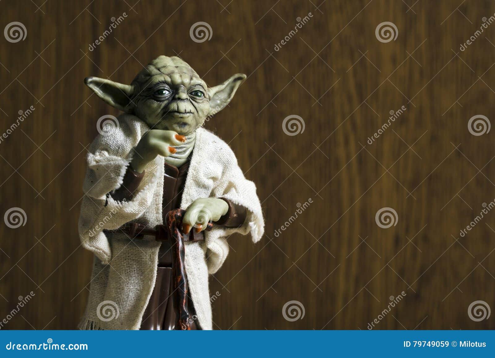Vorlagen-Joda Action Figure Vom Star Wars-Film Redaktionelles ...