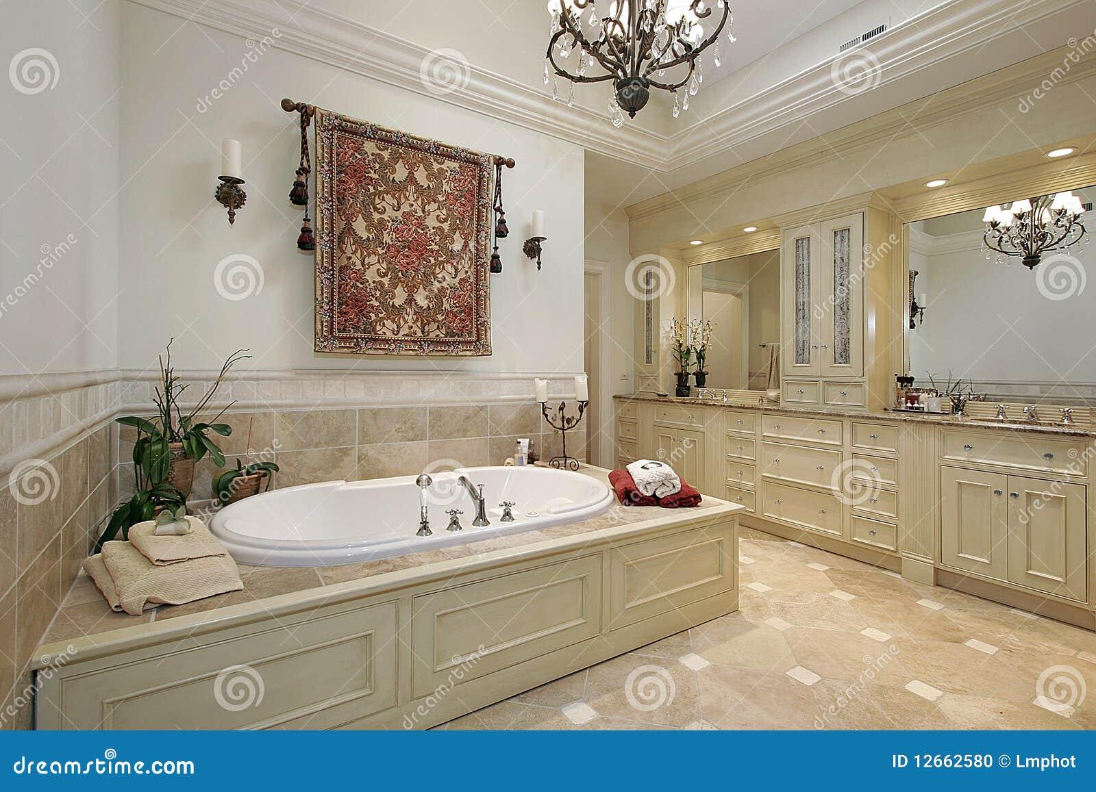 Vorlagenbad im Luxuxhaus