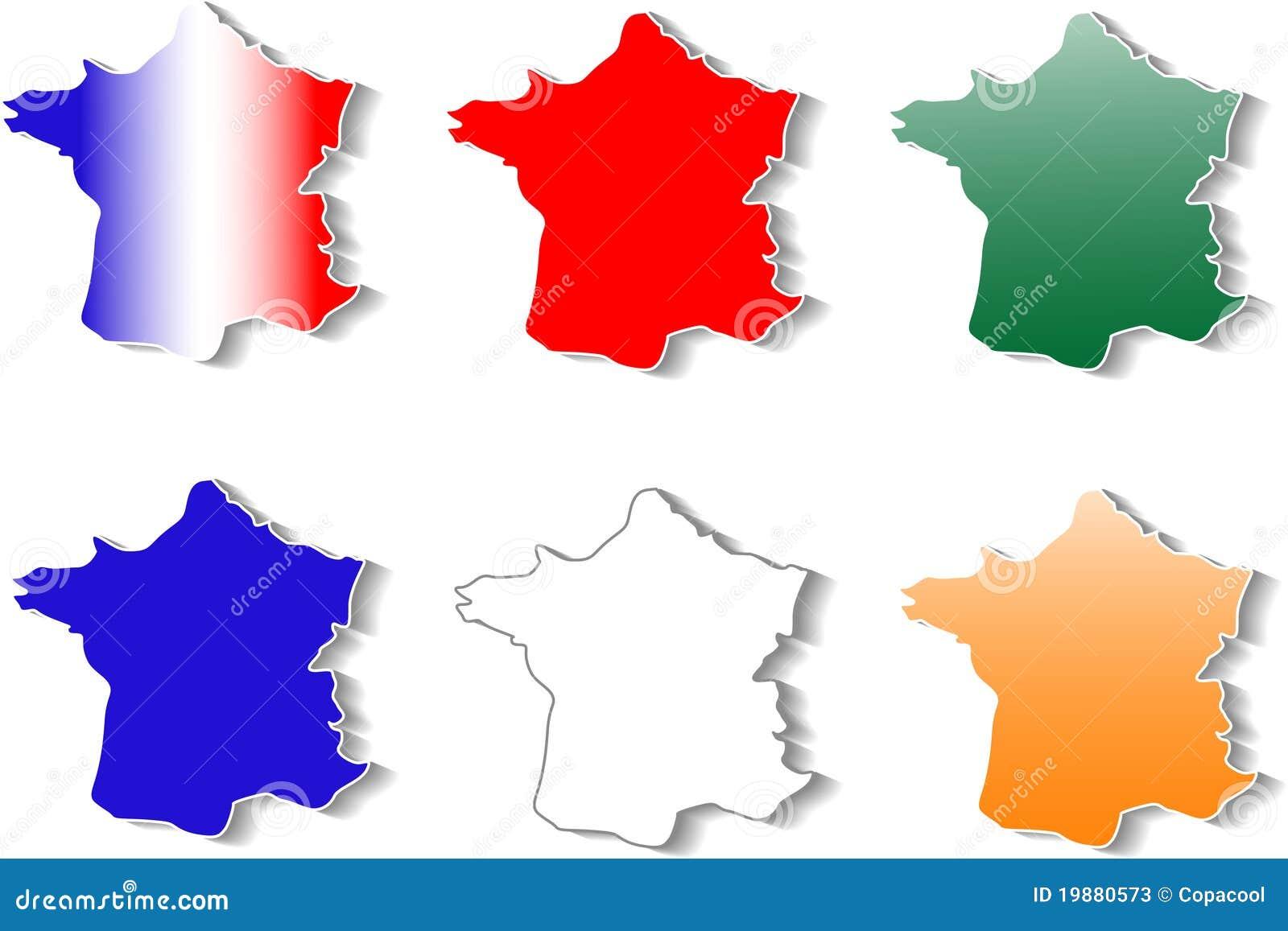 Old paris street map royalty free stock photo image 15885665 - Vorm Van Geplaatste De Stickers Van Frankrijk Stock Foto S