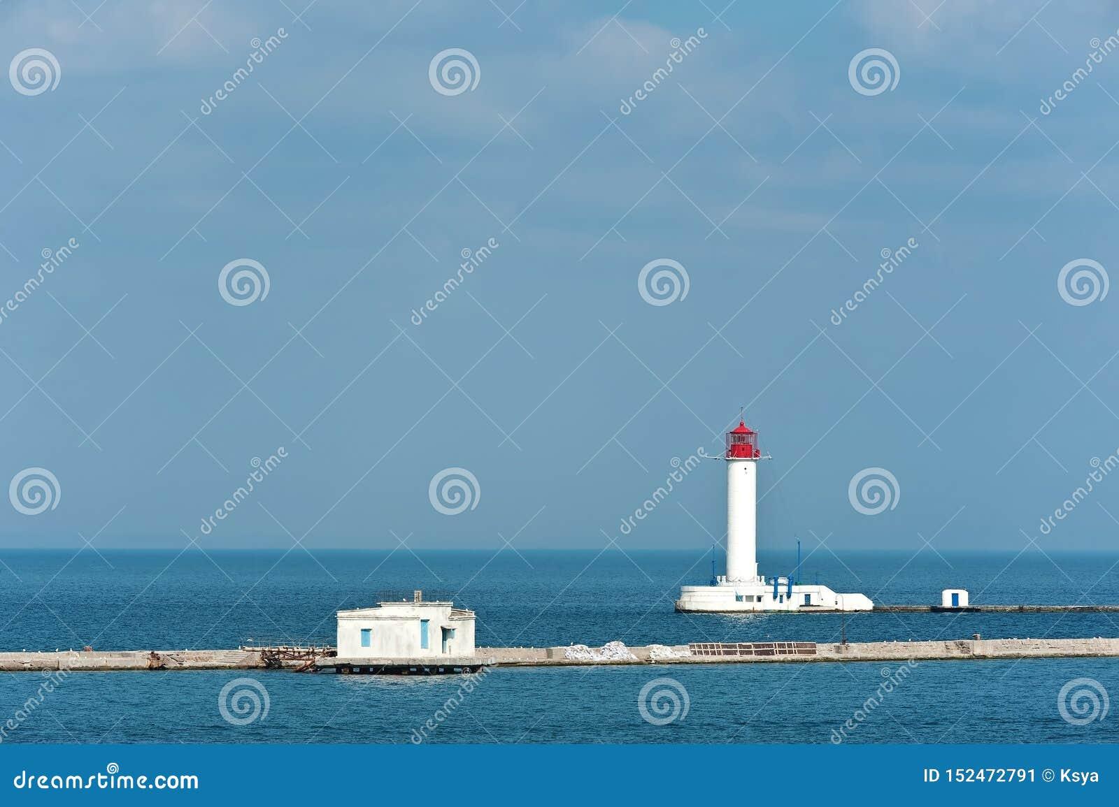 Vorontsov latarnia morska w Odesa, Ukraina