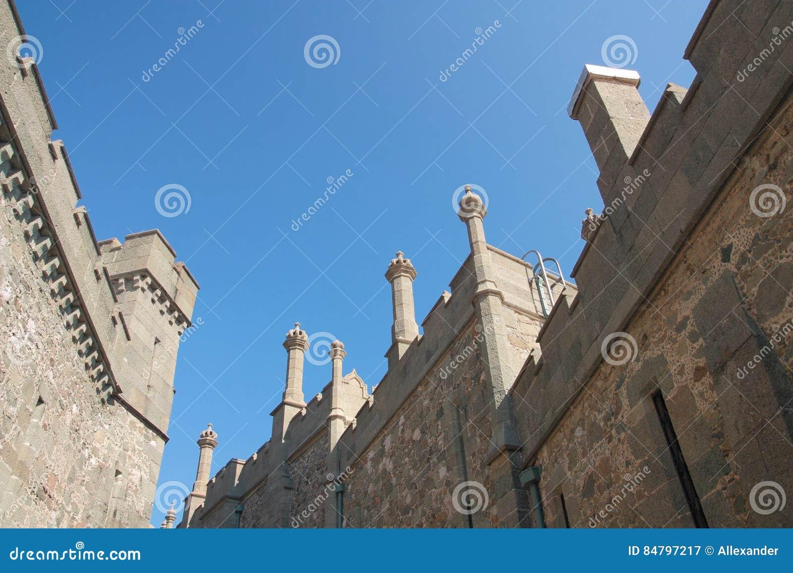 Vorontsov slott i Krim