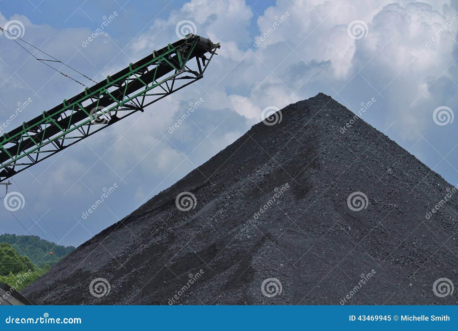 Vorrat der Kohle