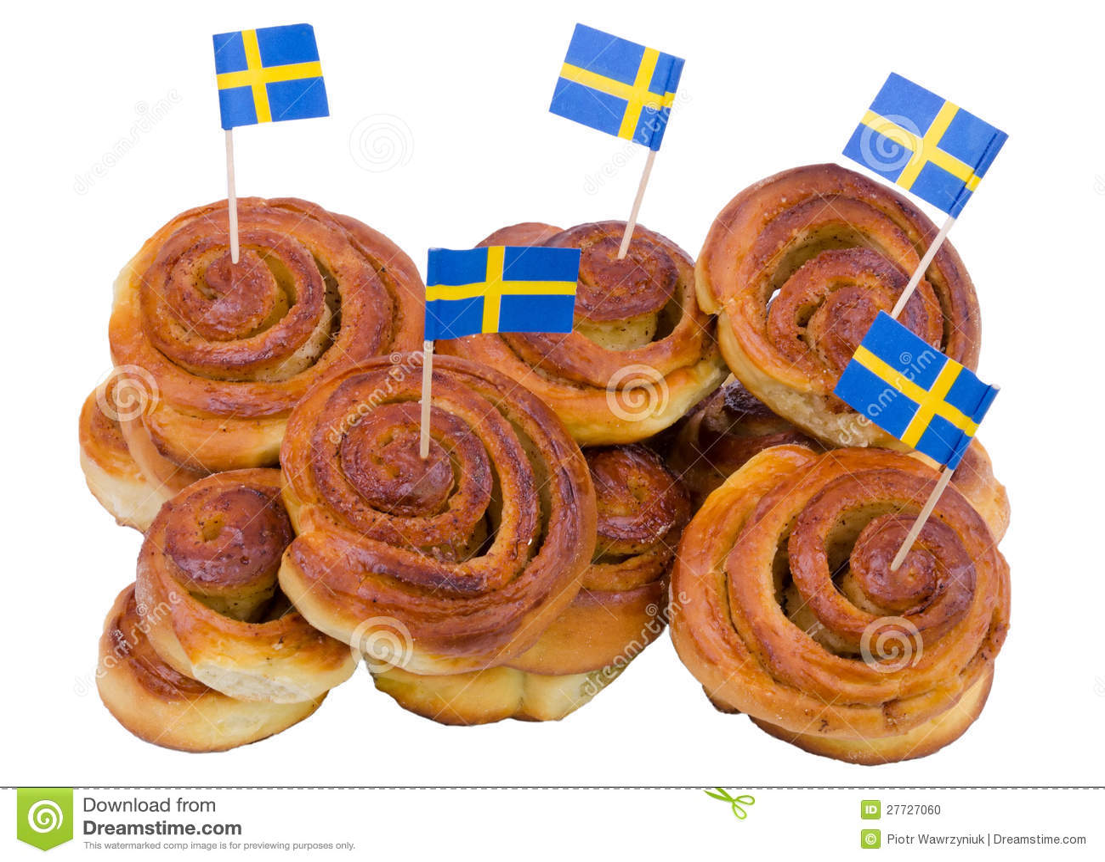 Vorrat an schwedischen Zimtbrötchen