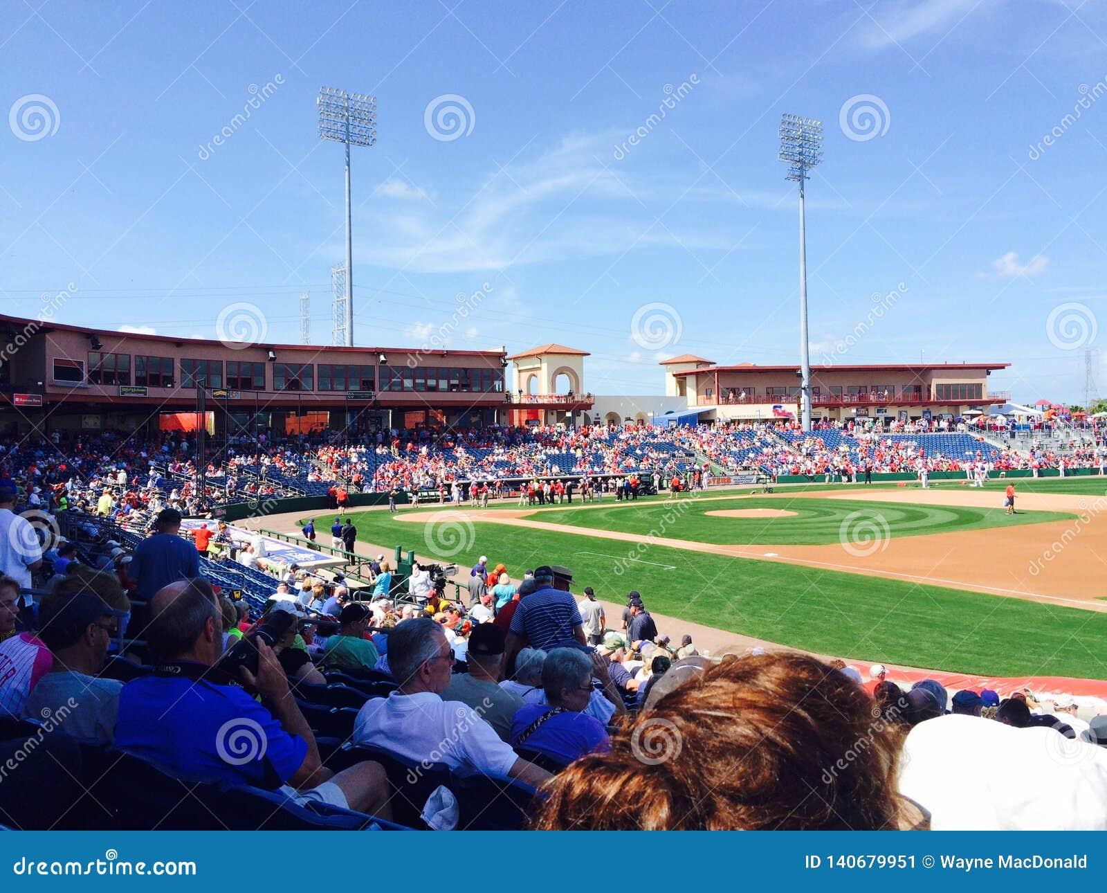 Vorsaison-Baseball Philadelphia Phillies Clearwater Florida