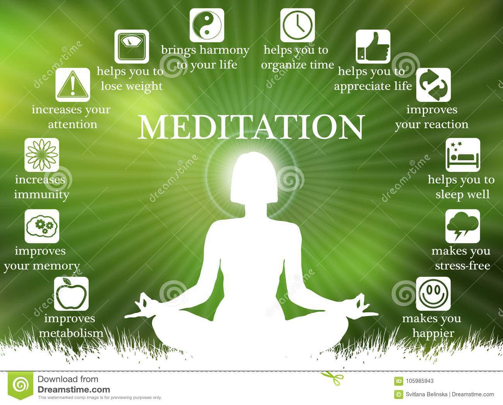 Vorteile Meditation