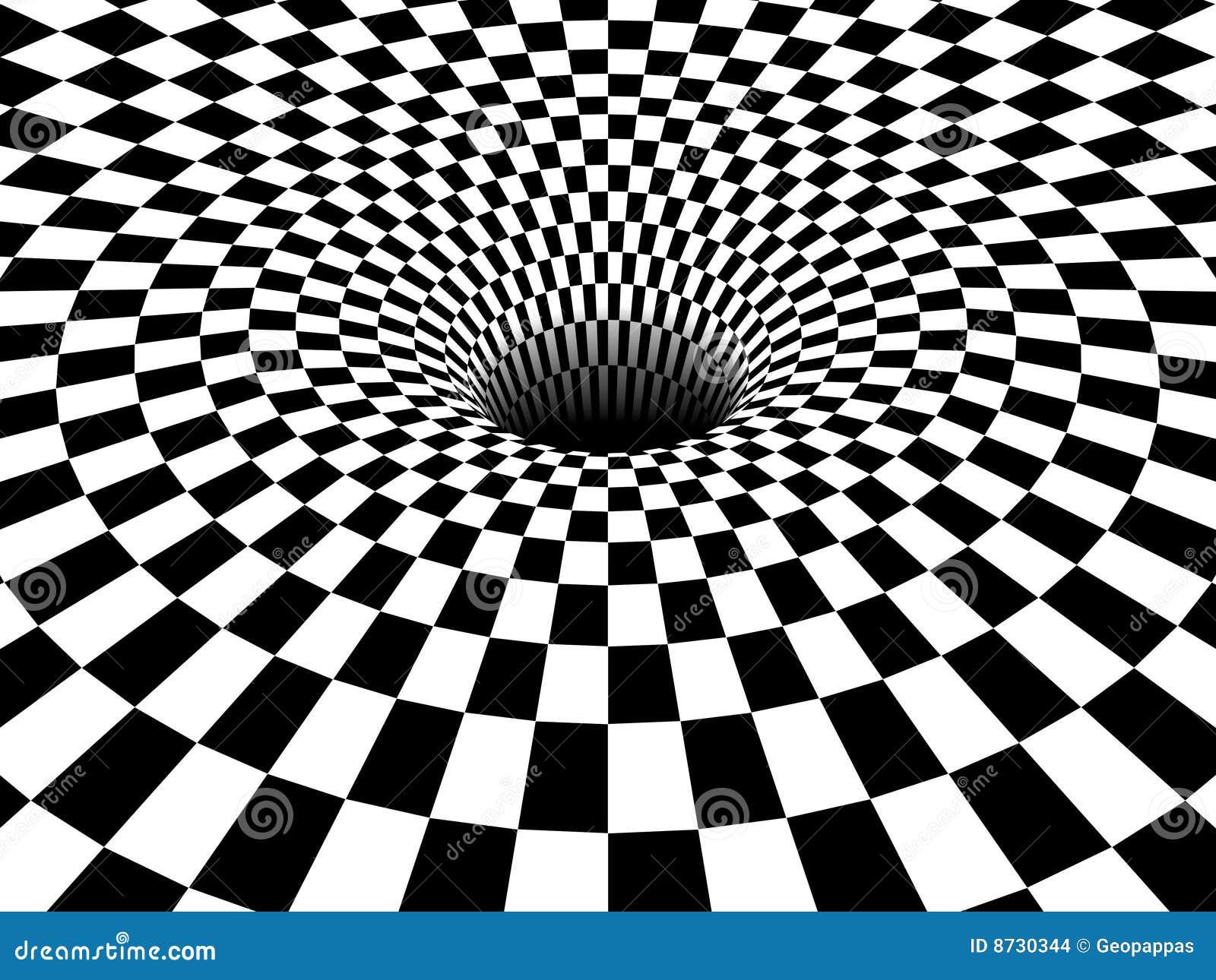 Vortex Du Trou Noir 3d Images Stock Image 8730344