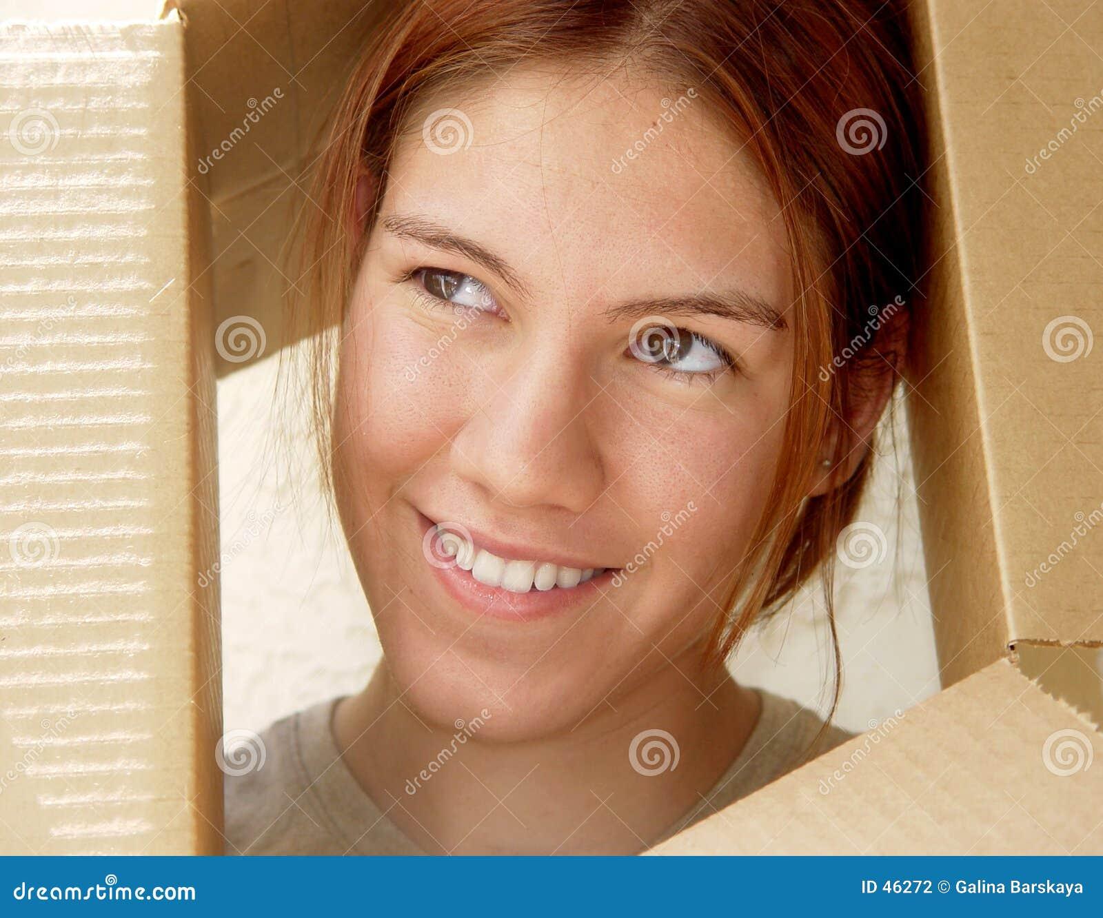 Vos in een doos