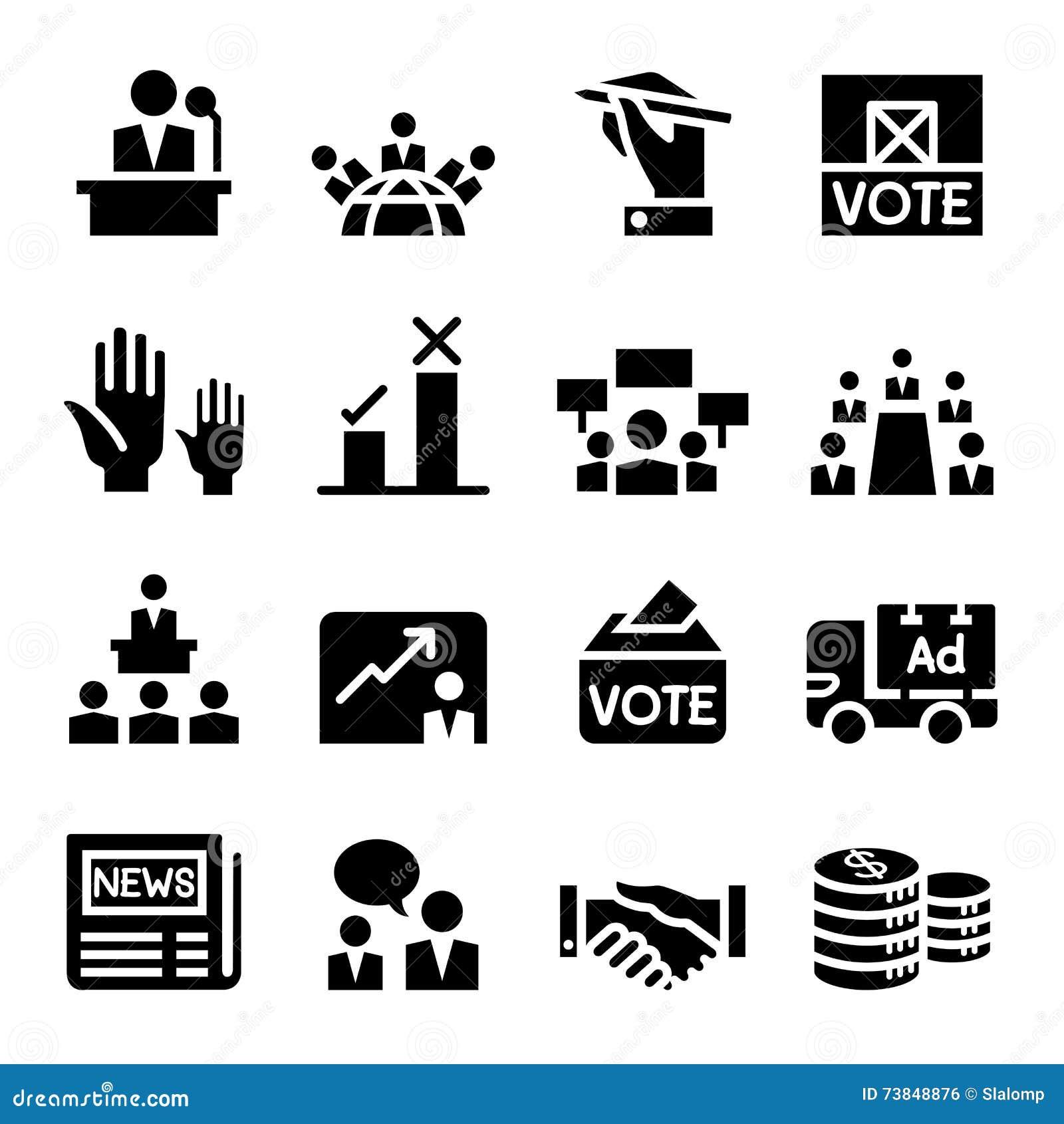 Votação, democracia, eleição, ícone
