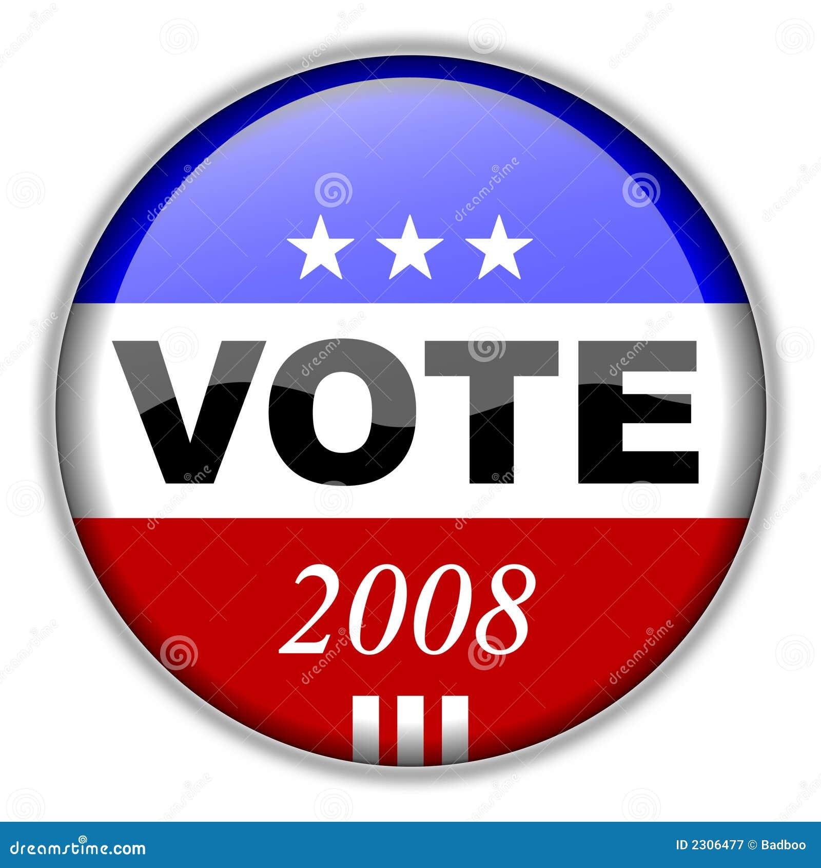 Vote Button 2008