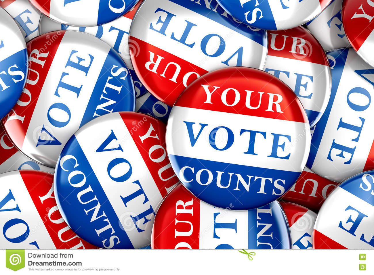 Vote buttons with Your Vote Counts