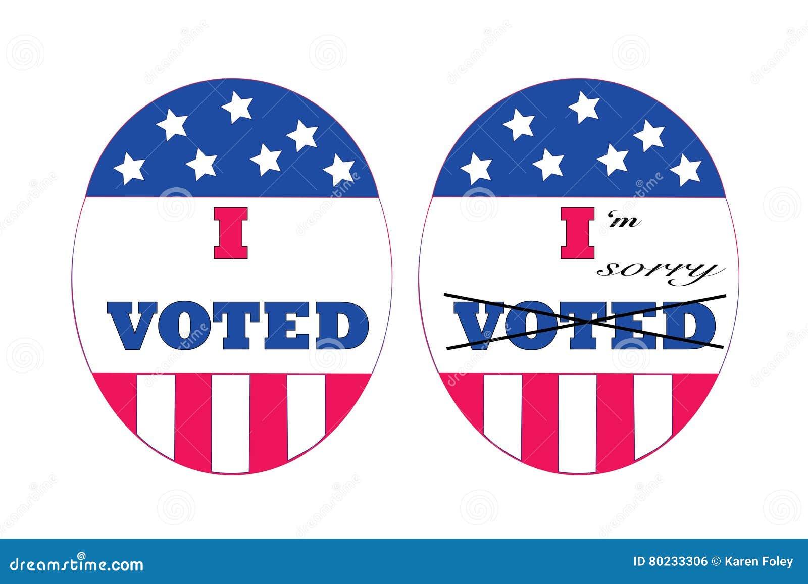 Voters remorse stock vector. Illustration of guilt, remorse - 80233306