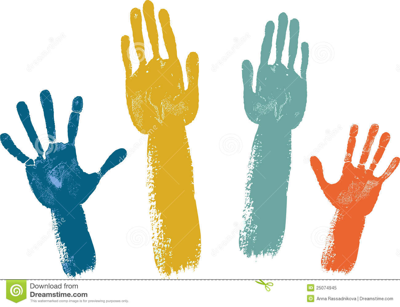 Voting Hands Royalty Free Stock Photo Image 25074945