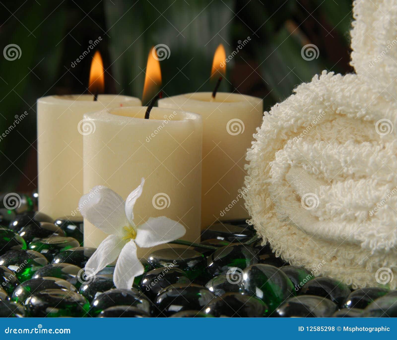 Votive Badekurort-Kerzen