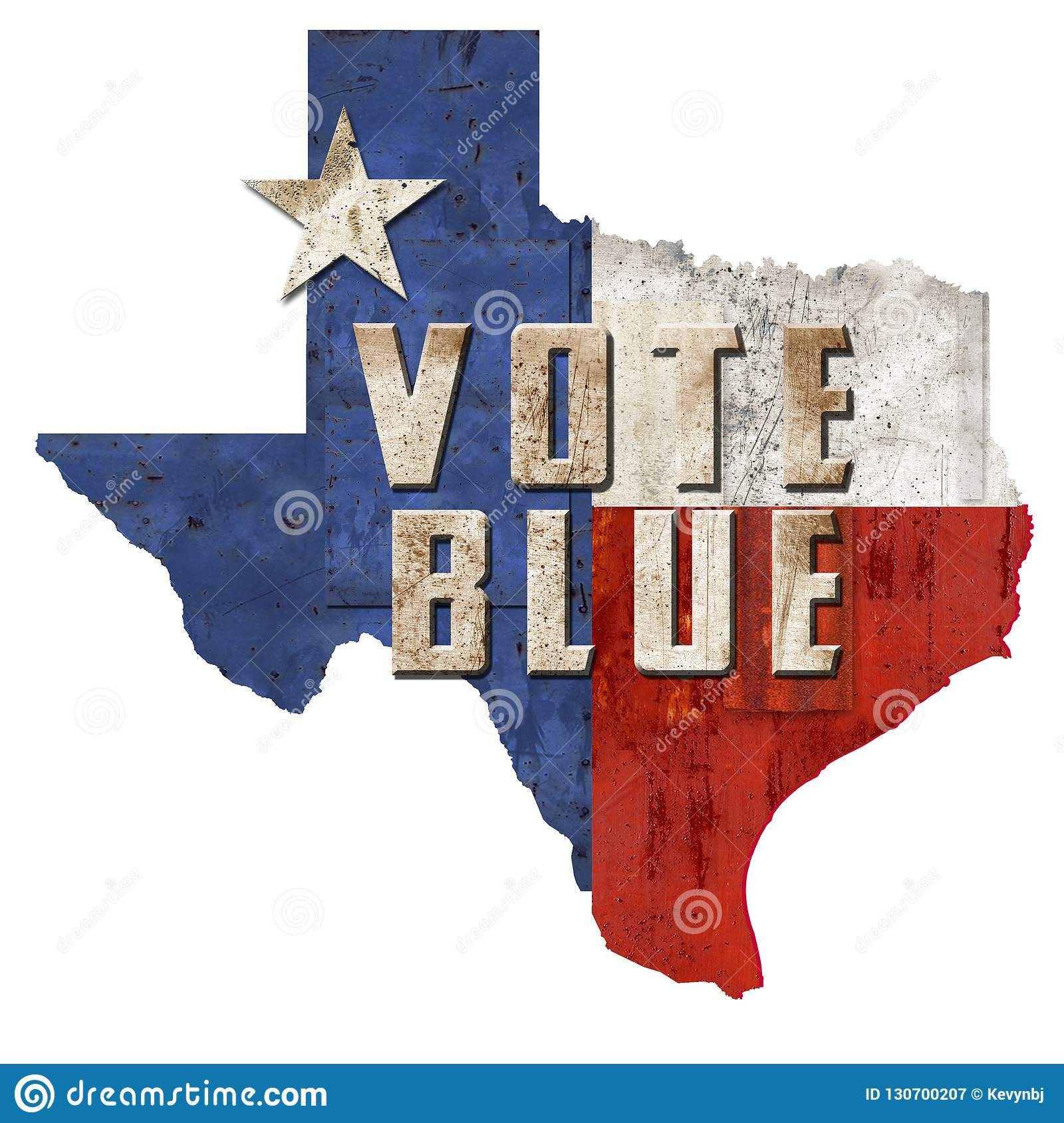 Voto Texas Democrat Vote Blue TX