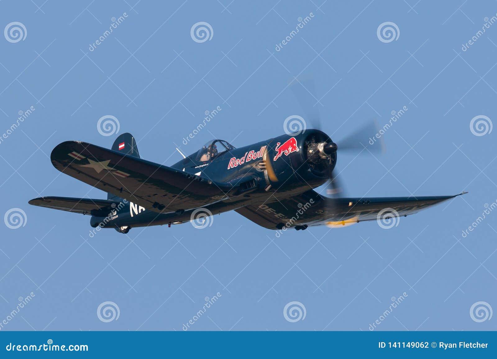 Vought F4U-4 Corsair World War II Vintage Fighter Aircraft