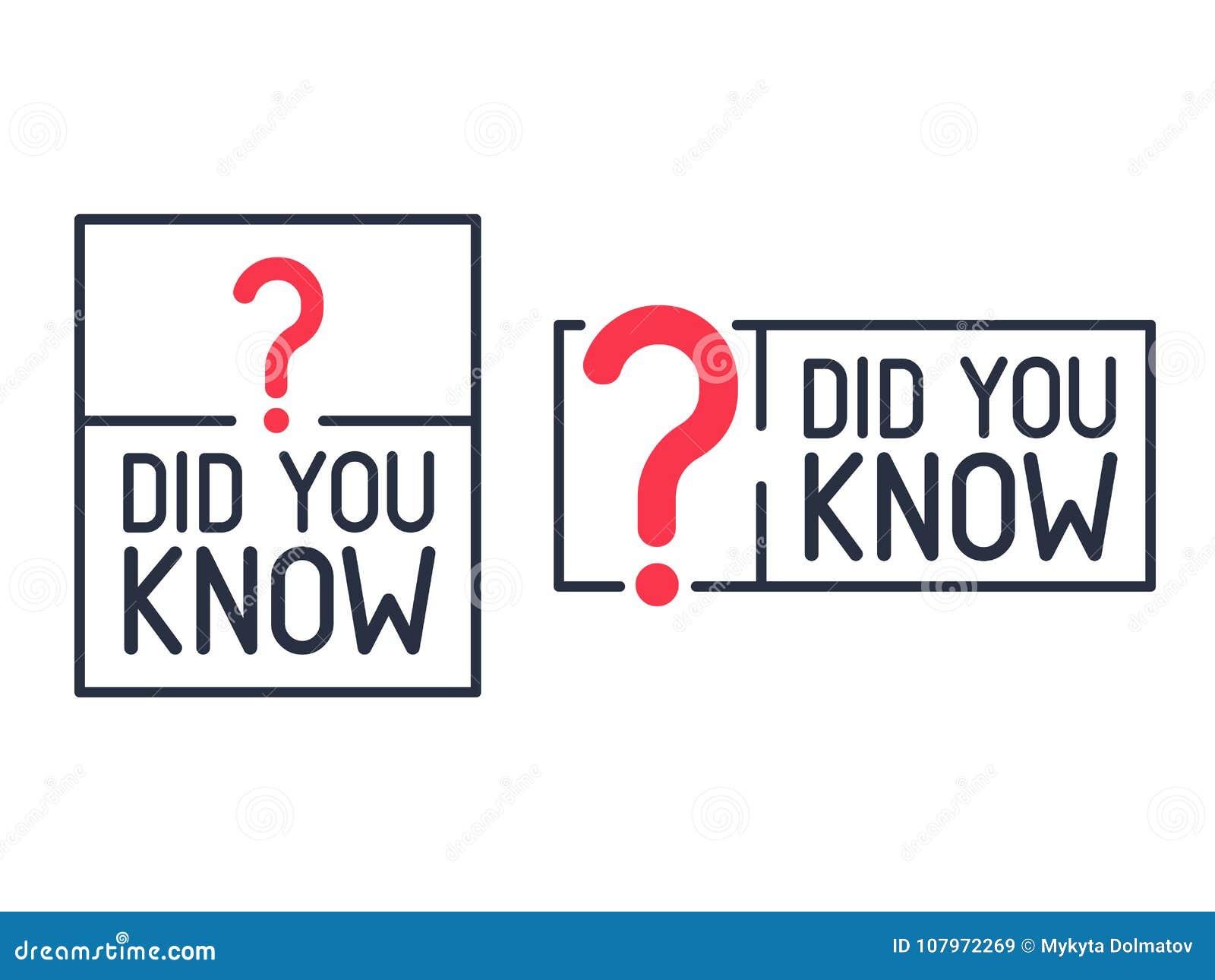 Vous avez connu le label de point d interrogation Illustration plate sur le fond blanc Ligne moderne icône de courrier de la conn