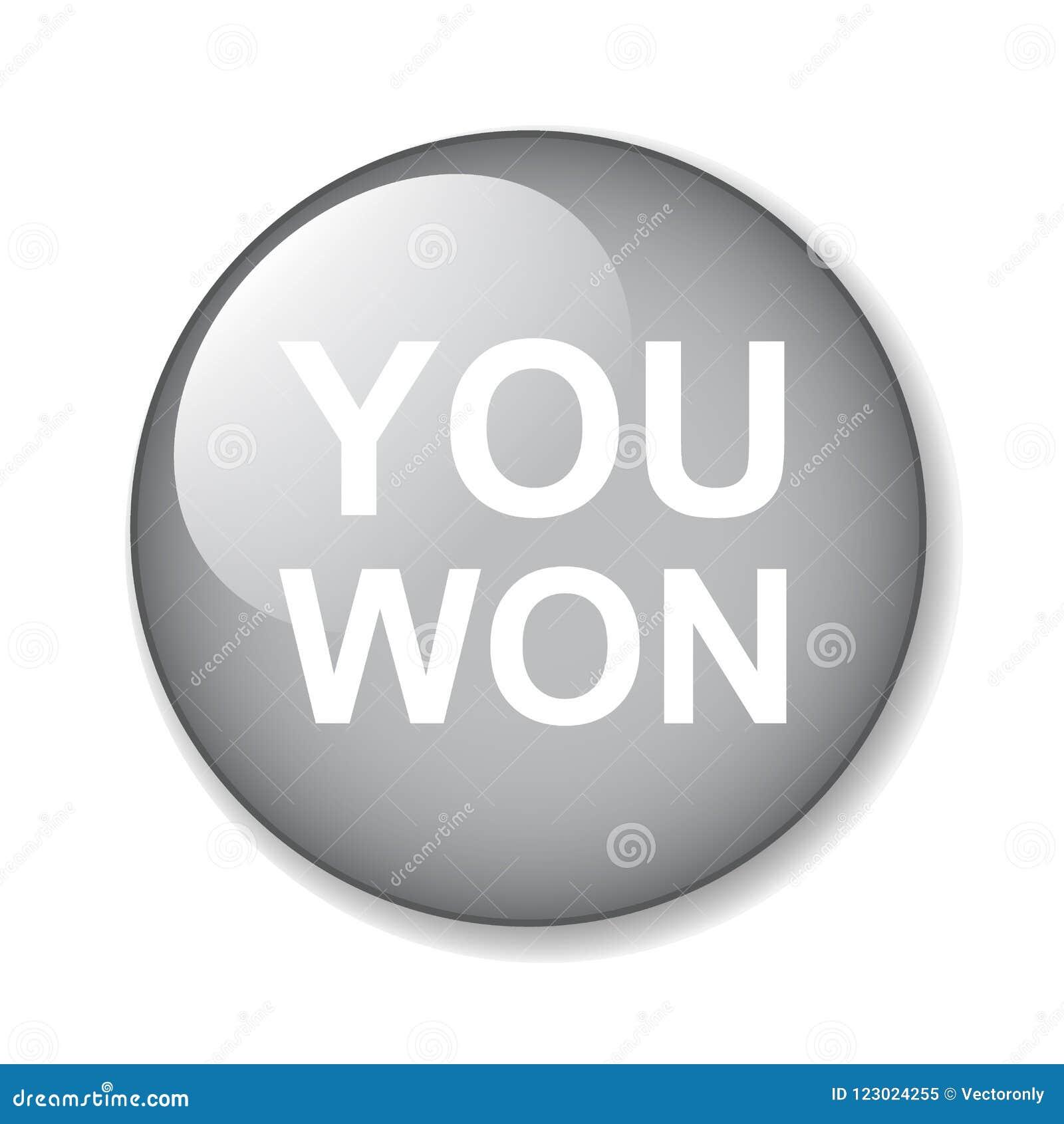 Vous avez gagné