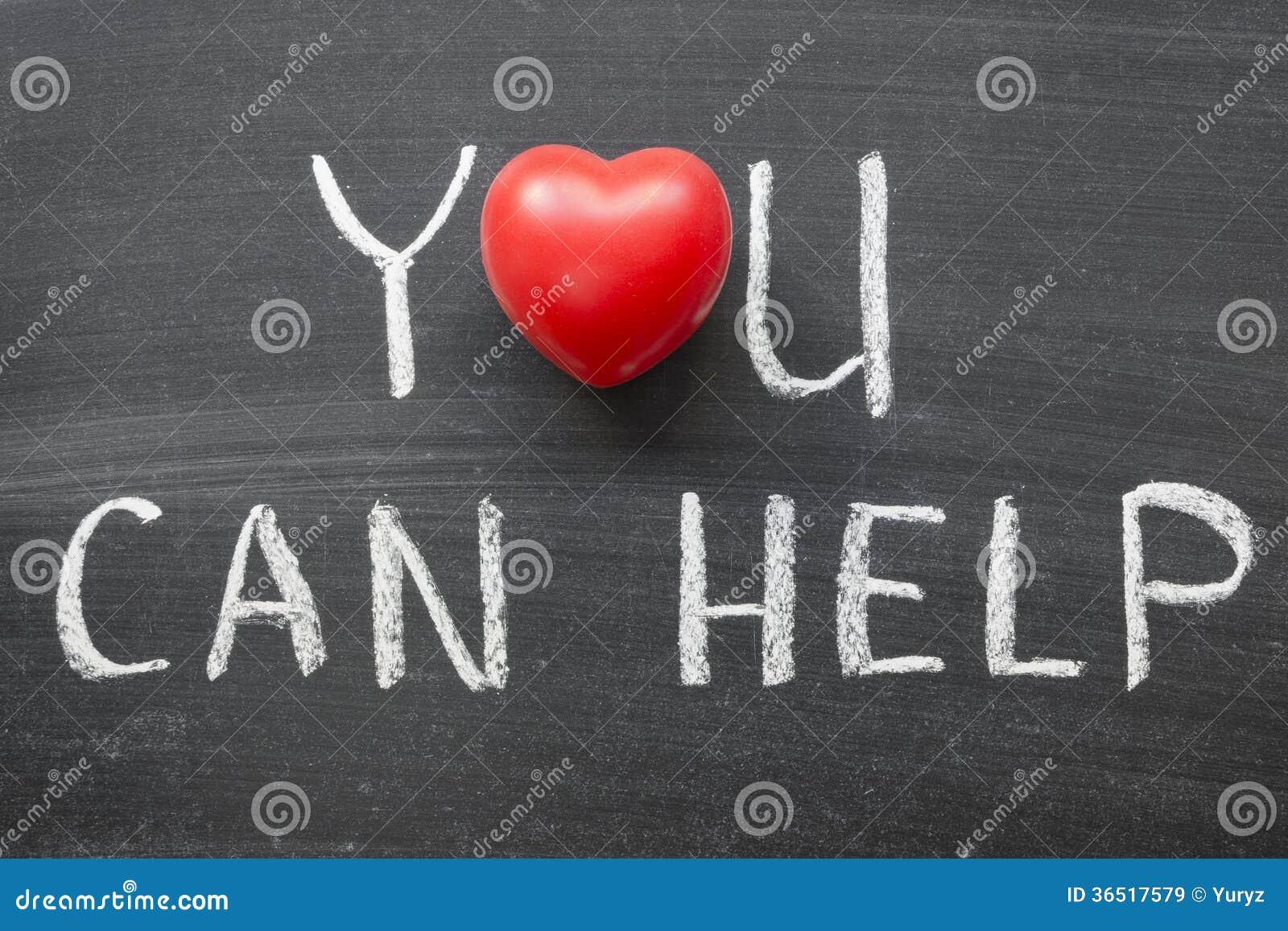 Vous pouvez aider