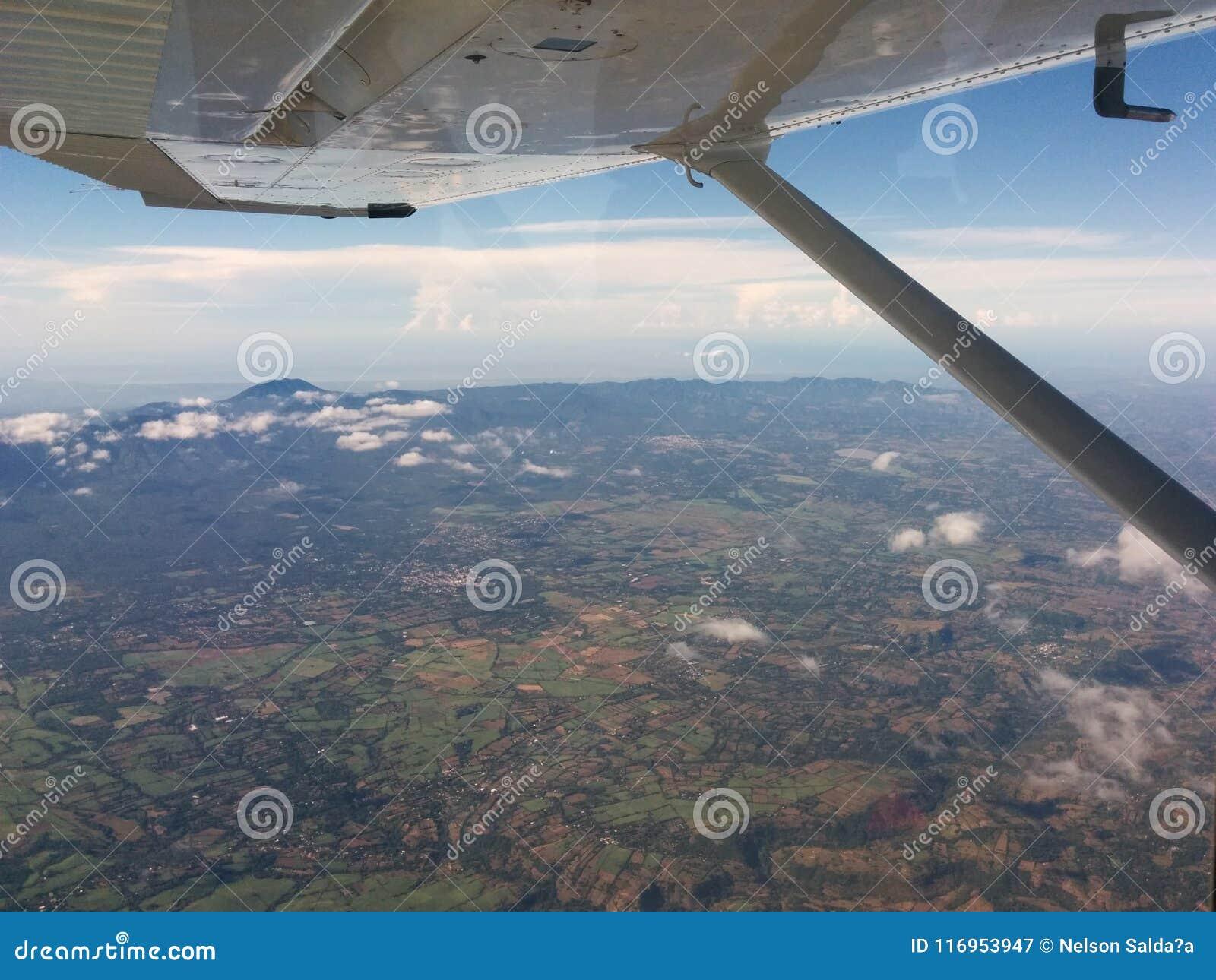 Voyage au-dessus du Guatemala