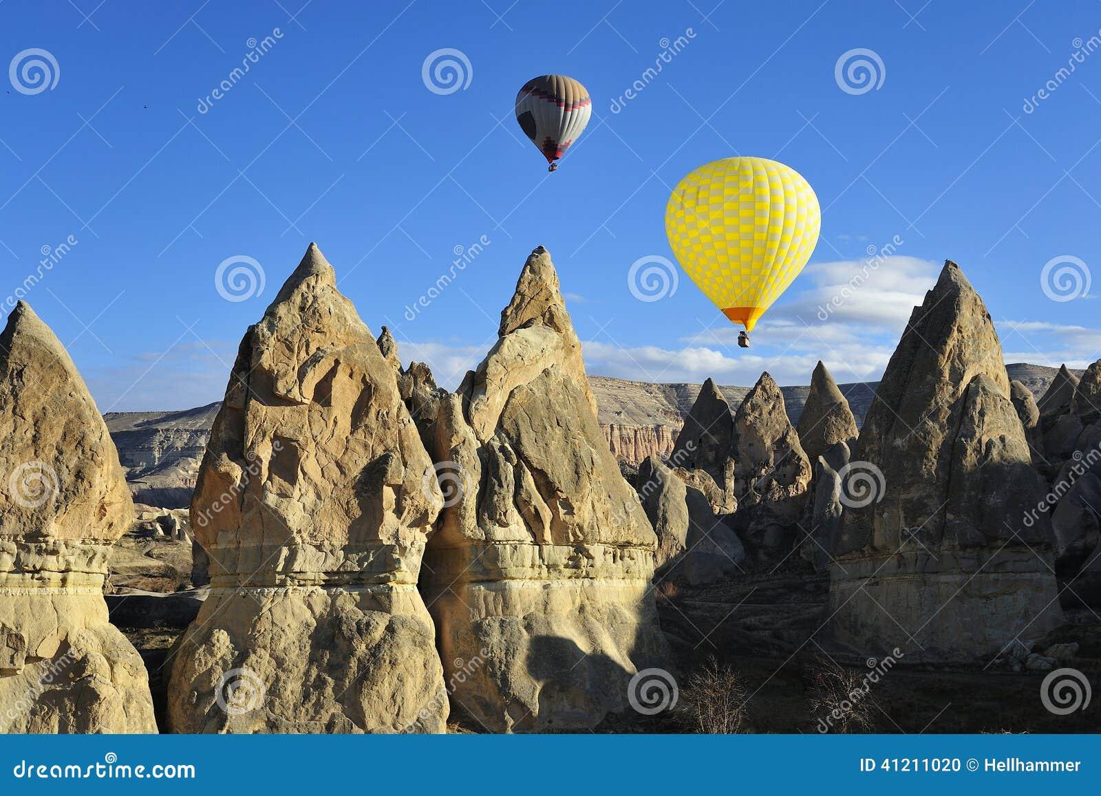 Voyage de ballon d air chaud dans le cappadocia, dinde