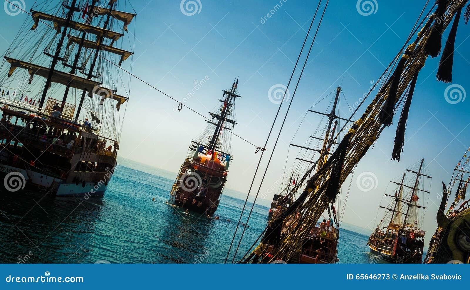 Voyage de bateau d Alanya