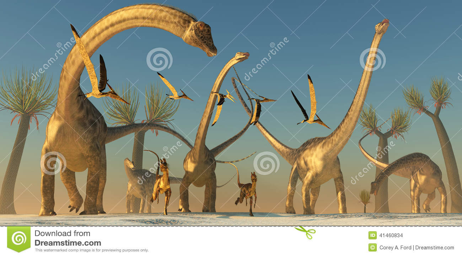 Voyage de dinosaure de diplodocus illustration stock - Dinosaure diplodocus ...