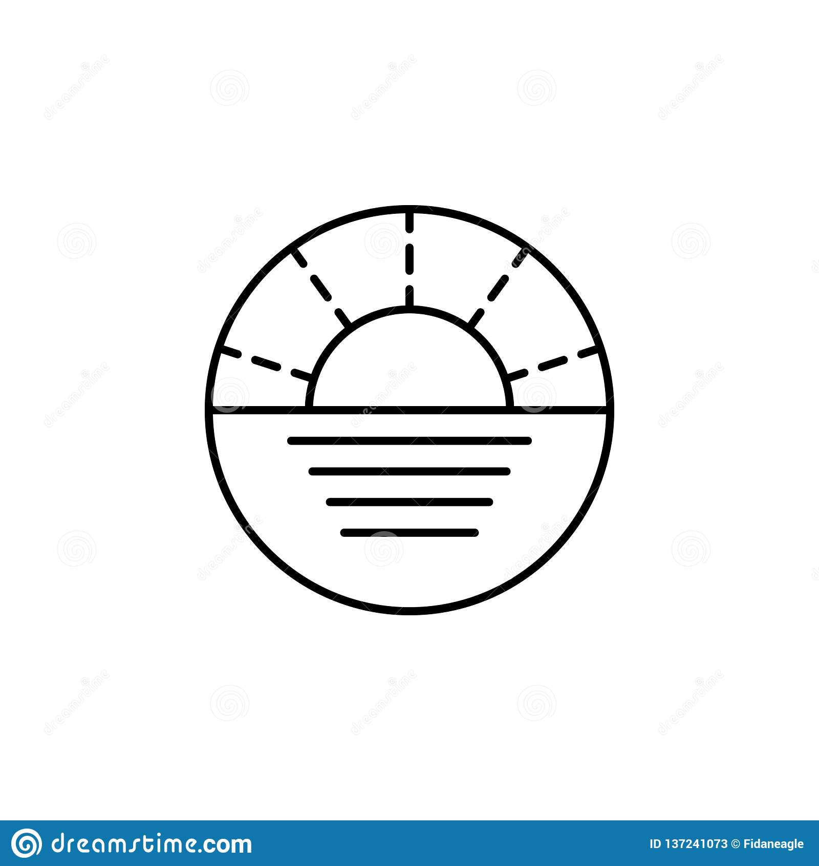 Voyage, icône d ensemble de navigation Élément d illustration de voyage Des signes et l icône de symboles peuvent être employés p
