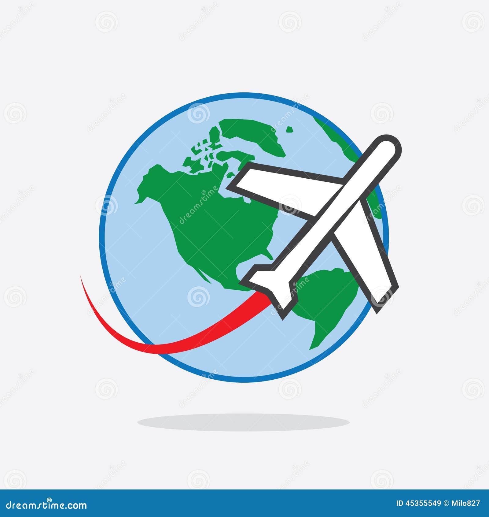 Voyage plat autour de monde